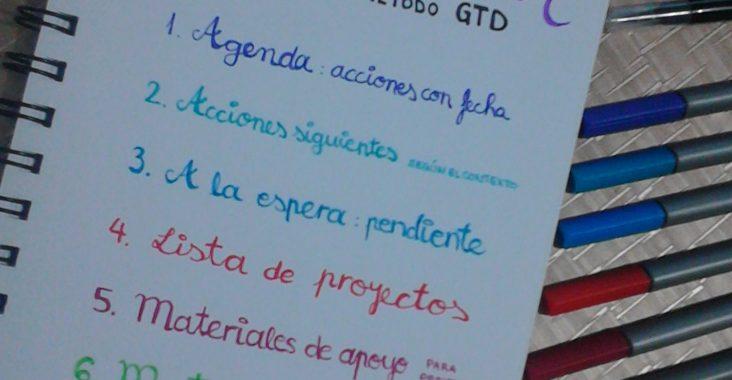 organizar - método GTD